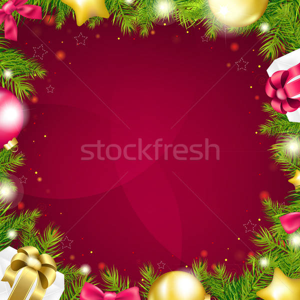Stockfoto: Christmas · helling · abstract · ontwerp