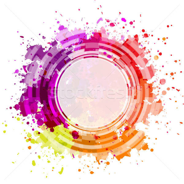 Colorful Blot Background Stock photo © barbaliss