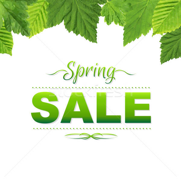 Spring Poster Stock photo © barbaliss