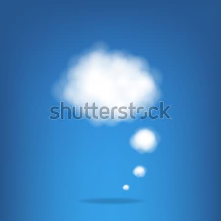 Cloud Stock photo © barbaliss