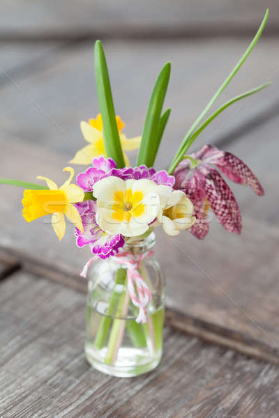 Bunch of spring flowers Stock photo © BarbaraNeveu