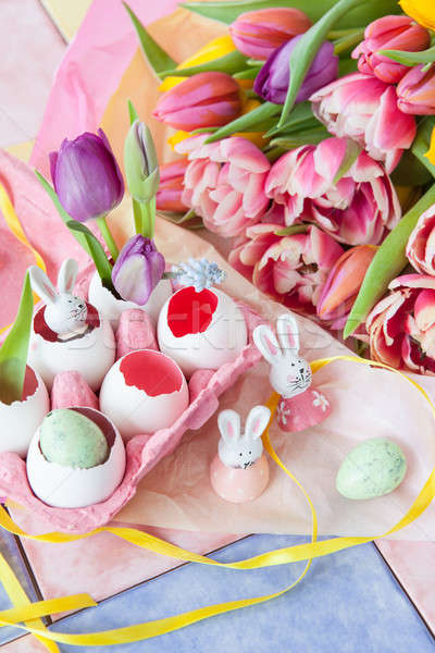 Stock photo: Decorations for easter