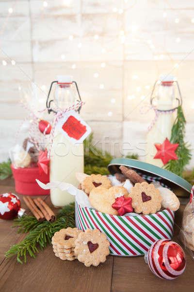 Homemade presents for christmas Stock photo © BarbaraNeveu