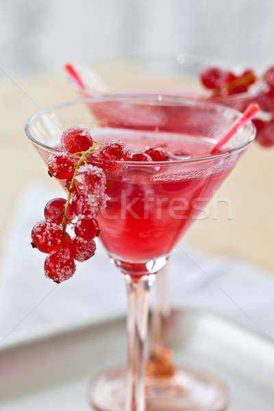 Koktél ital desszert Stock fotó © BarbaraNeveu