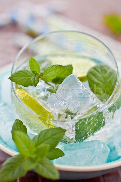 Fresh lemonade Stock photo © BarbaraNeveu