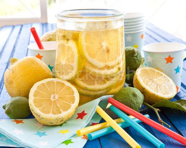 Homemade iced tea Stock photo © BarbaraNeveu