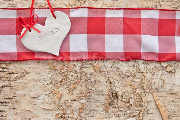 Rustic background for christmas Stock photo © BarbaraNeveu