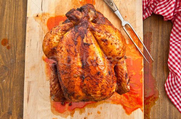 Fresh grilled chicken Stock photo © BarbaraNeveu