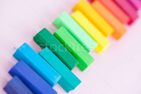 Water color chalks Stock photo © BarbaraNeveu