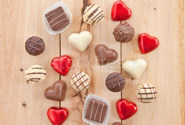 Various chocolates Stock photo © BarbaraNeveu
