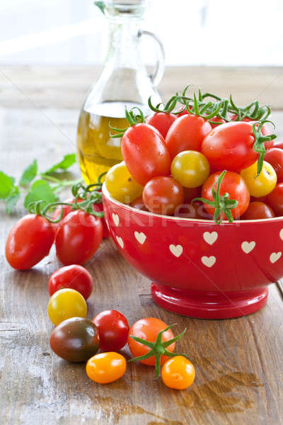 Variety of tomatoes Stock photo © BarbaraNeveu