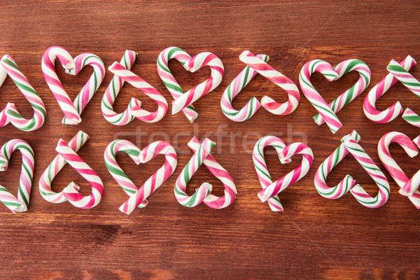 красочный конфеты Рождества фон Сток-фото © BarbaraNeveu
