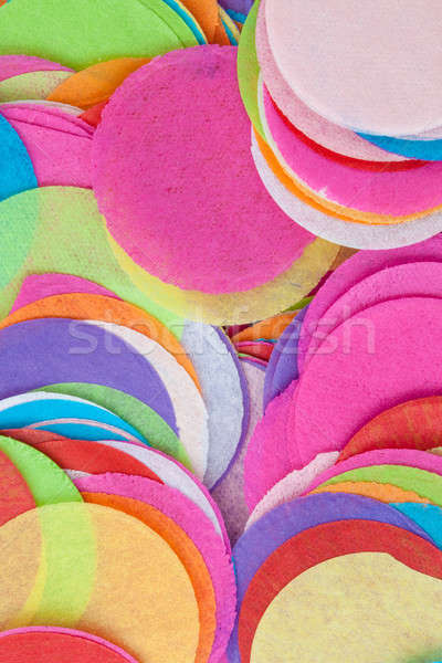 конфетти ярко цветами бумаги желтый счастье Сток-фото © BarbaraNeveu