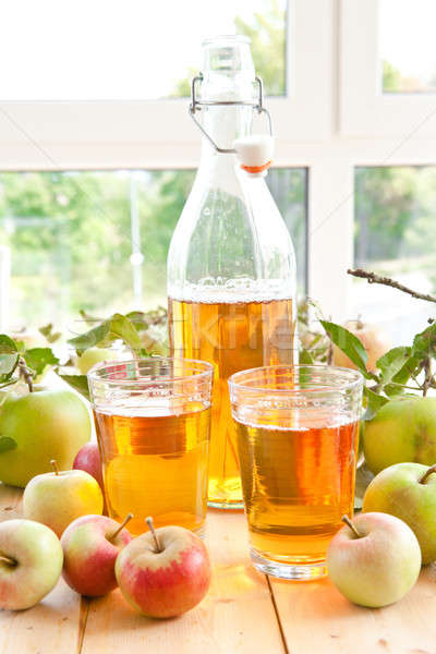 Succo di mela fresche mele varietà alimentare Foto d'archivio © BarbaraNeveu