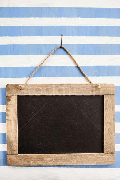 Foto stock: Rústico · pizarra · a · rayas · pintado