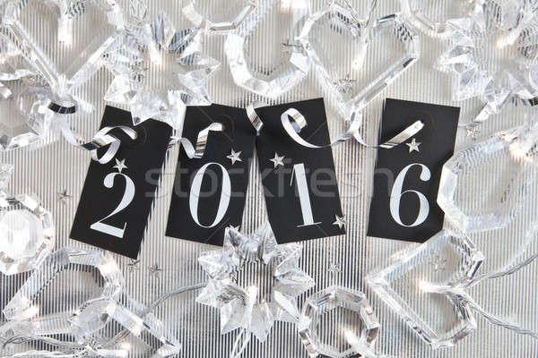 2016 on shiny background Stock photo © BarbaraNeveu
