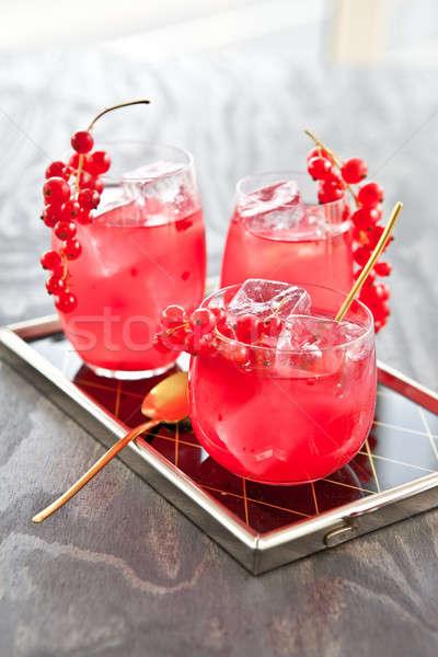 Cocktail roze hel Stockfoto © BarbaraNeveu