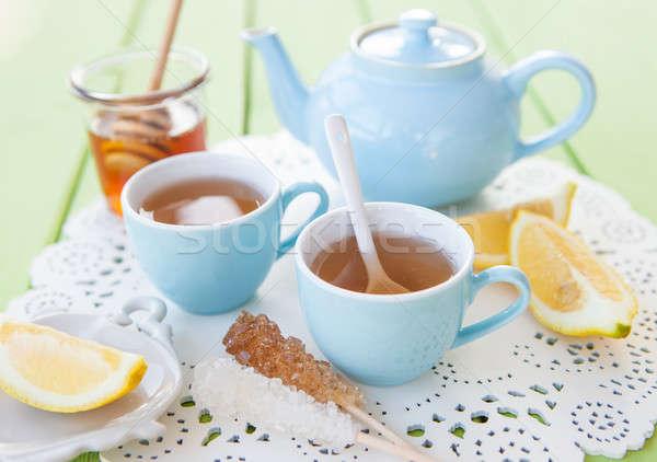 Freshly brewed tea Stock photo © BarbaraNeveu