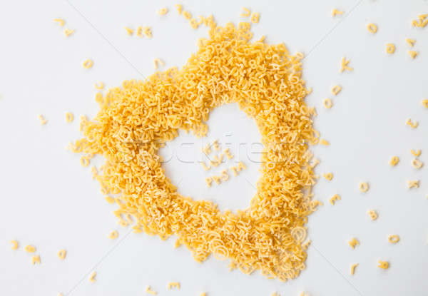 We love Pasta written with noodles Stock photo © BarbaraNeveu