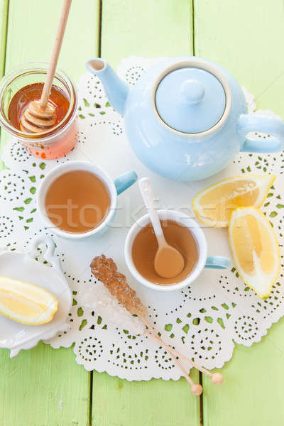 Freshly brewed tea Stock photo © BarbaraNeveu