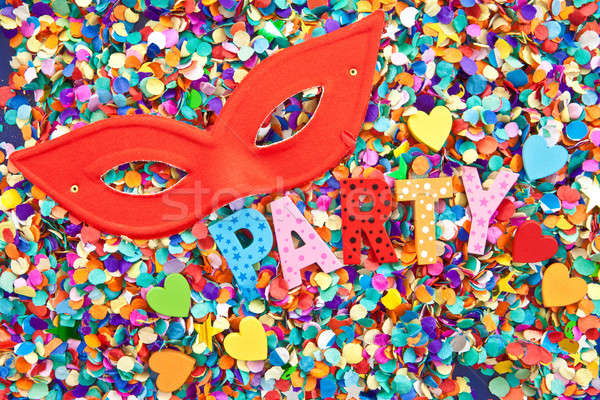 Party on confetti Stock photo © BarbaraNeveu