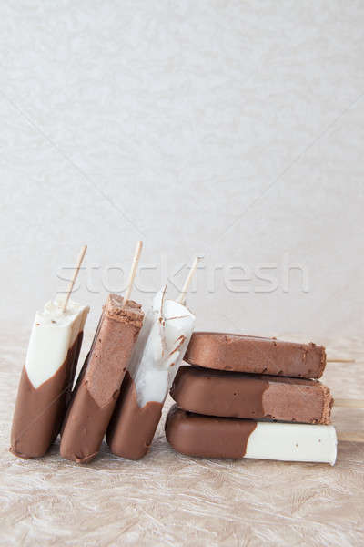 Ice cream popsicles Stock photo © BarbaraNeveu