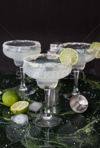 Ice cold Margarita Cocktails Stock photo © BarbaraNeveu
