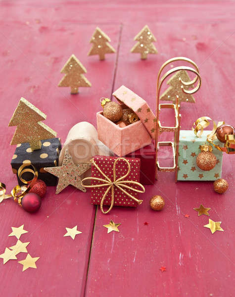 Little colorful presents Stock photo © BarbaraNeveu