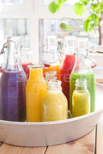 Zdjęcia stock: Wybór · świeże · jabłko · zielone · owoce