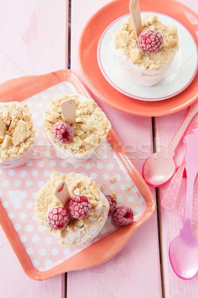 Homemade yogurt ice cream  Stock photo © BarbaraNeveu
