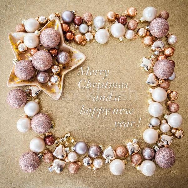 Christmas decorations Stock photo © BarbaraNeveu