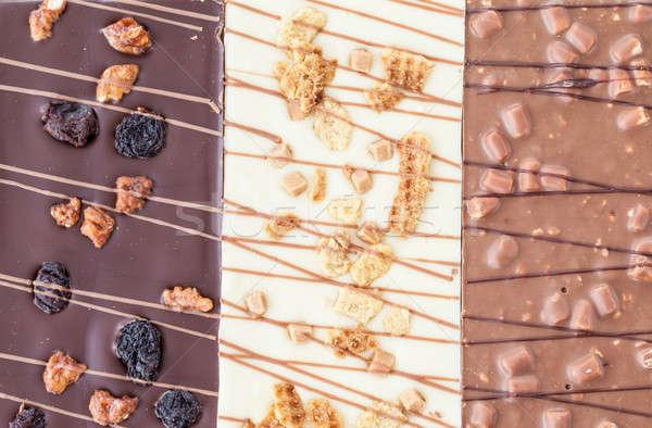Variety of chocolates Stock photo © BarbaraNeveu