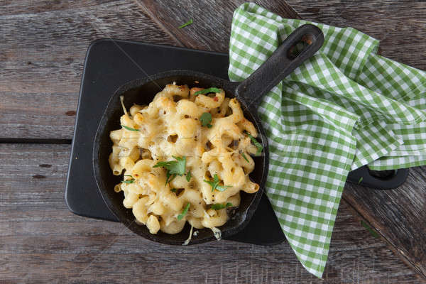 Macaroni and cheese Stock photo © BarbaraNeveu