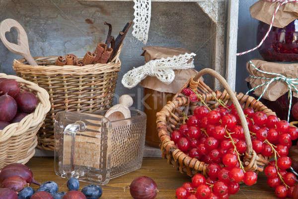 Cooking marmalade Stock photo © BarbaraNeveu