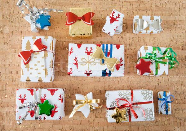 Stock photo: Little christmas presents