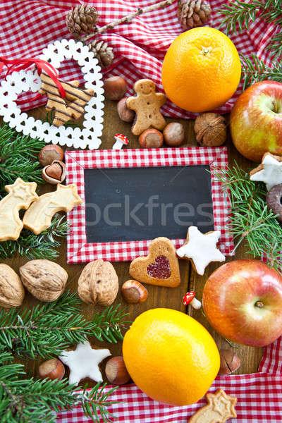 Hintergrund zu Weihnachten Stock photo © BarbaraNeveu