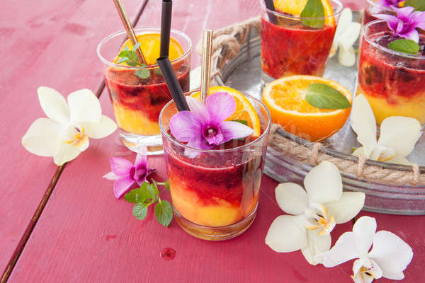 Colorful drink with oranges Stock photo © BarbaraNeveu