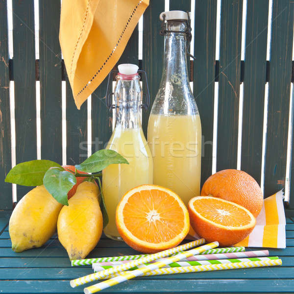 Homemade lemonade Stock photo © BarbaraNeveu