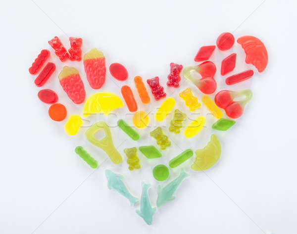 Colorful soft candies  Stock photo © BarbaraNeveu