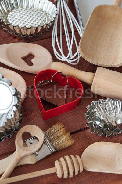 Utensils for baking Stock photo © BarbaraNeveu