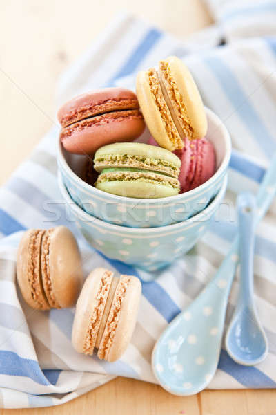 French macaroons Stock photo © BarbaraNeveu