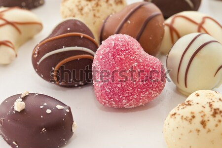 Selection of chocolate candy Stock photo © BarbaraNeveu