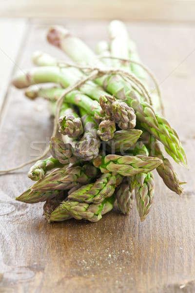 Fresh asparagus in a bundle Stock photo © BarbaraNeveu