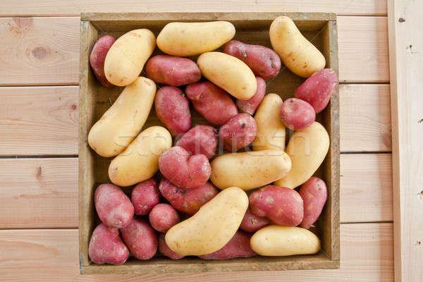 Variedade batatas rústico comida Foto stock © BarbaraNeveu