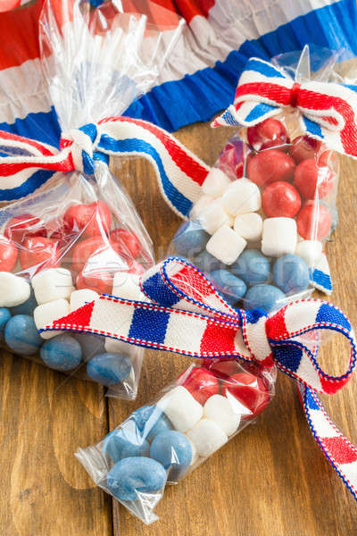 Colorful treats for the 4th of July Stock photo © BarbaraNeveu