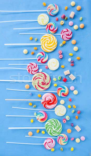 Colorful popsicles Stock photo © BarbaraNeveu
