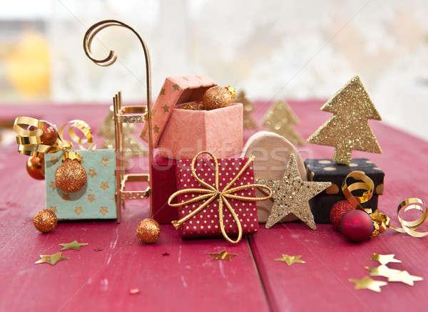 Little colorful presents Stock photo © BarbaraNeveu