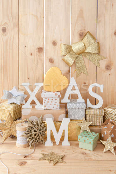 Little presents for christmas Stock photo © BarbaraNeveu