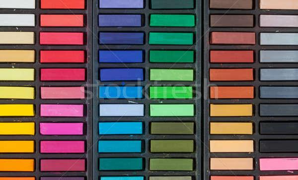 Colorful chalk assortment Stock photo © BarbaraNeveu