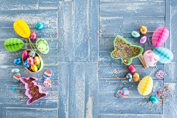 Colorful treats for easter Stock photo © BarbaraNeveu